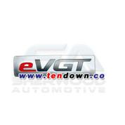 "2010+ Tucson IX ""eVGT"" Plaque Emblem"