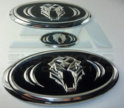 05-10 Sportage Tigris Luxury Version Emblem Badge Set