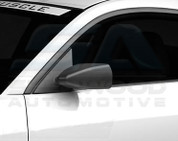 07+ Santa Fe Matte Black Side Mirror Covers 2pc Set