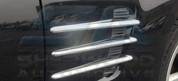 Chrysler Crossfire Chrome Fender Vent Covers 6pc set made in Germany GAP German auto parts