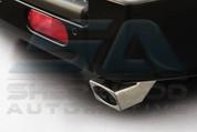 Commander Chrome Plated Angled Exhaust Tip