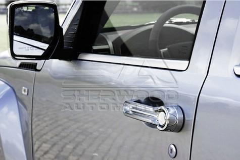 jeep liberty cherokee kk stainless steel window molding. Black Bedroom Furniture Sets. Home Design Ideas