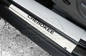 Jeep Liberty / Cherokee KK Stainless Steel Door Sills 4pcs