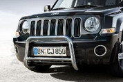 Jeep Patriot Chrome Grill Frame Set 7pc