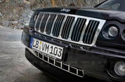 Jeep Grand Cherokee Chrome Grill Set