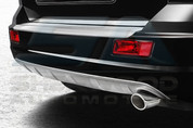 11-13 Dodge Journey Silver Rear Bumper Exhaust Diffusor