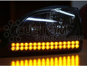 03-06 Sorento LED Headlight Turn Signal