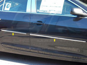2013+ Chevy Malibu CHROME Body Side Molding