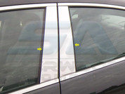 2013+ Chevy Malibu CHROME Pillar Post Trim 4pc