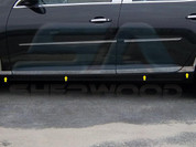 "2013+ Chevy Malibu CHROME Rocker Panel Trim ""L-Type"""