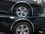 2013+ Chevy Malibu CHROME Wheel Well Trim