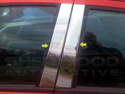 2013+ Chevy Spark Pillar Post Trim 4pc
