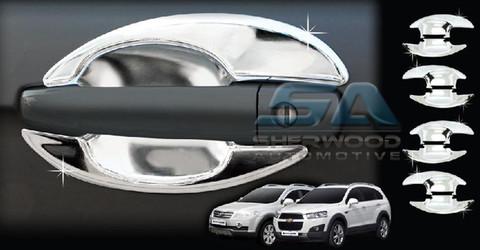 2012 Chevy Captiva Sport Chrome Door Handle Shells Bowl Korean Auto Imports