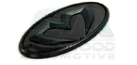 2013+ Subaru Outback MECCAMACHINE BLACK Emblem Set Grill Trunk W