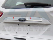 2013 Ford Escape CHROME License Bar Trim 2pc