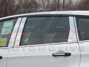 2013 Ford Escape CHROME Pillar Post Trim 8 pc