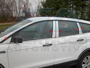 2013 Ford Escape CHROME Pillar Post Trim 10 pc