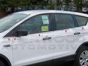 2013 Ford Escape CHROME Window Sill Trim 10pc