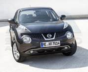 2010+ Nissan Juke Chrome Front Bumper Accent Trim