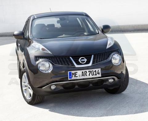 2010 Nissan Juke Chrome Front Bumper Accent Trim Korean Auto Imports