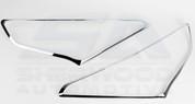 2013-2014 Santa Fe DM ix45 Chrome Headlight Cover Trim Set 2pc