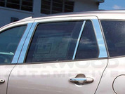2007-2012 Santa Fe Pillar Post Trim 8pc