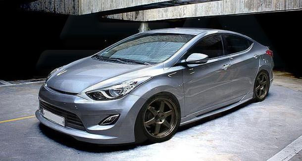 2011 elantra md cuper full body kit korean auto imports. Black Bedroom Furniture Sets. Home Design Ideas