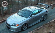 03-06 Tiburon FNB Sport Body Kit