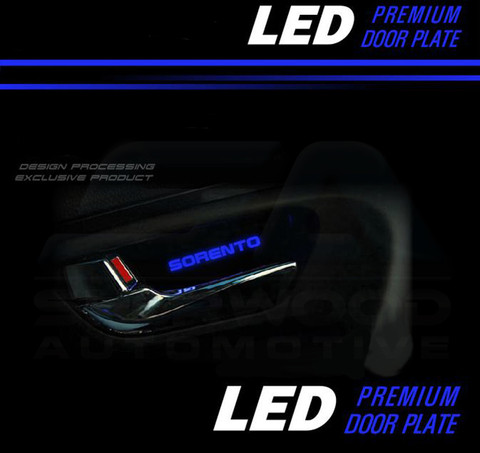 2003 2009 Sorento Led Interior Door Handle Shell Set 4pc Diy Korean Auto Imports