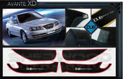 Avante XD DUB Edition Interior Door Cover Protector Set 4pc