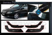 Azera Grandeur TG DUB Edition Interior Door Cover Protector Set