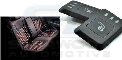 2011+ i30 Backseat Seat Heater Kit w/ Controls/Modules/Wiring