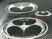 2014+ Cadenza K7 BATWING Emblem Set Grill Trunk Steering 3pc