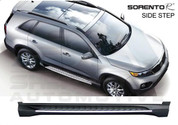 2010+ Sorento R Tomato A&P PREMIUM Running Boards Side Steps