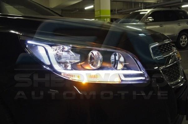 2013+ Chevy Malibu Illuminated LED Headlights 2pc Set ...