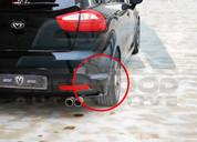 2012+ Rio 5dr M&S Rear Bumper Attachment Set wings 2pc