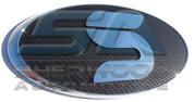 """Borrego / Mohave """"S"""" Carbon/Stainless Steel Emblem Badge Logo Se"""