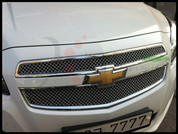 2013+ Chevy Malibu Chrome Mesh Grill Set 2pc