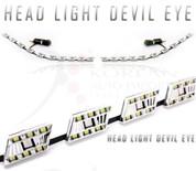 2011+ Accent Devil 2-way DRL LED Headlight Module Set