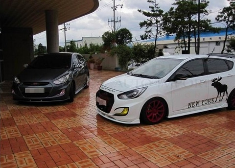 2011 Accent Solaris Luxgen Body Kit Korean Auto Imports