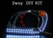 2005-2008 Sportage 2-way Premium LED Headlight DIY Kit 4pc