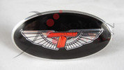 07-08 Tiburon Tomato T-WING Oval Steering Wheel Emblem