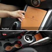 Veloster Leather Interior Cup/Console Insert Set 3pc
