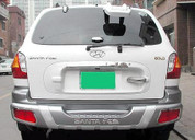 Santa Fe Rear Bumper Guard