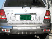 2003-2006 Sorento Rear Bumper Guard