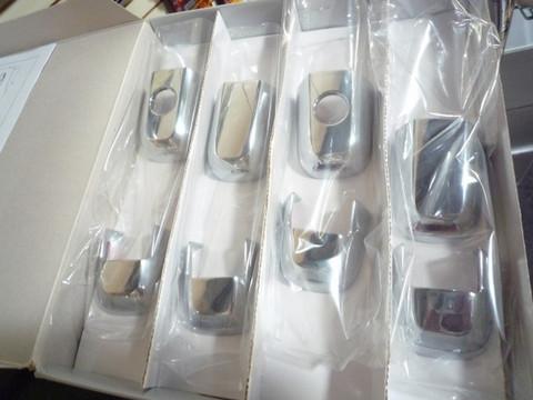2003-2006 Sorento Chrome Door Handle Set 8pc EX