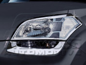 Soul Chrome Headlight Trims