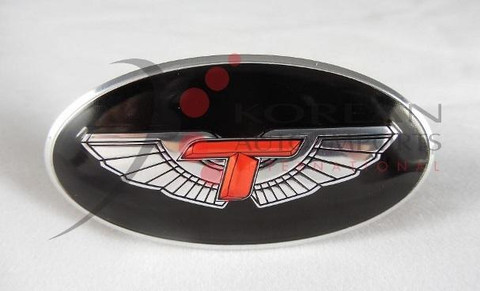 Tomato T Wing Steering Wheel Emblem Oval