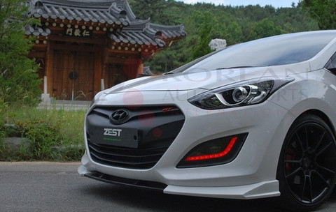2012 I30 Luxgen Front Bumper Valance Lip Attachment