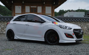 2012+ i30 Luxgen Body Kit 3pc Set